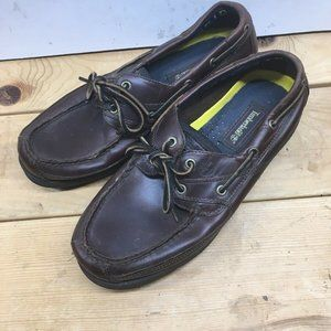 Timberland Classic 2 Eye Leather Boat Shoes Mens